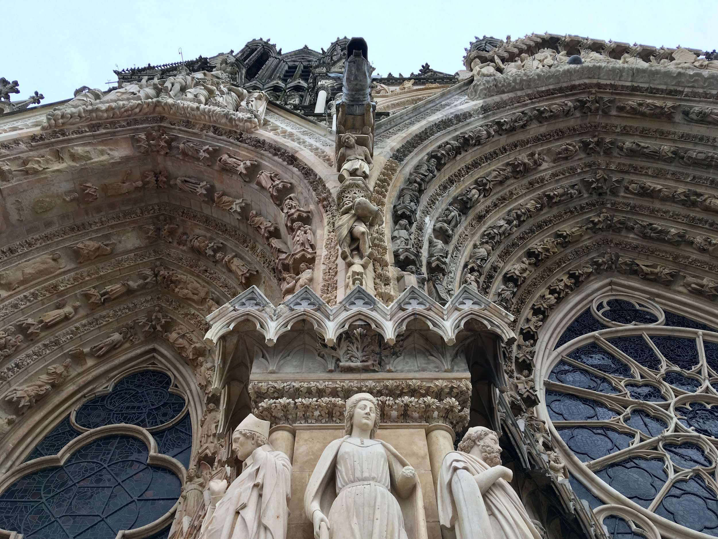 The gorgeous, gothic-style Reims cathedral is best known for being the church where French kings were crowned, and enduring multiple fires. The city of Reims celebrated the church's 800th (!) anniversary in 2011.