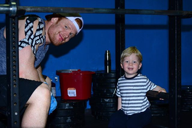 """Quote of the day. """"Is uncle Graham still doing pull-ups?"""" -Jack"""