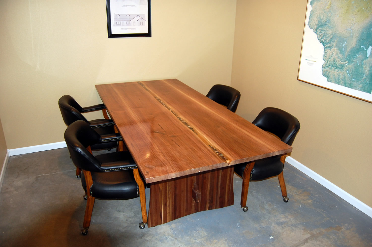 Conference Table by Eau Claire Woodworks