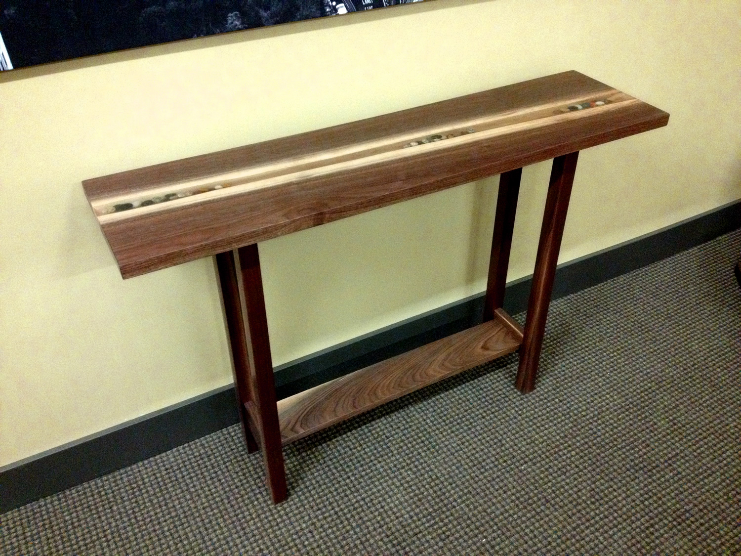 Console Table by Eau Claire Woodworks