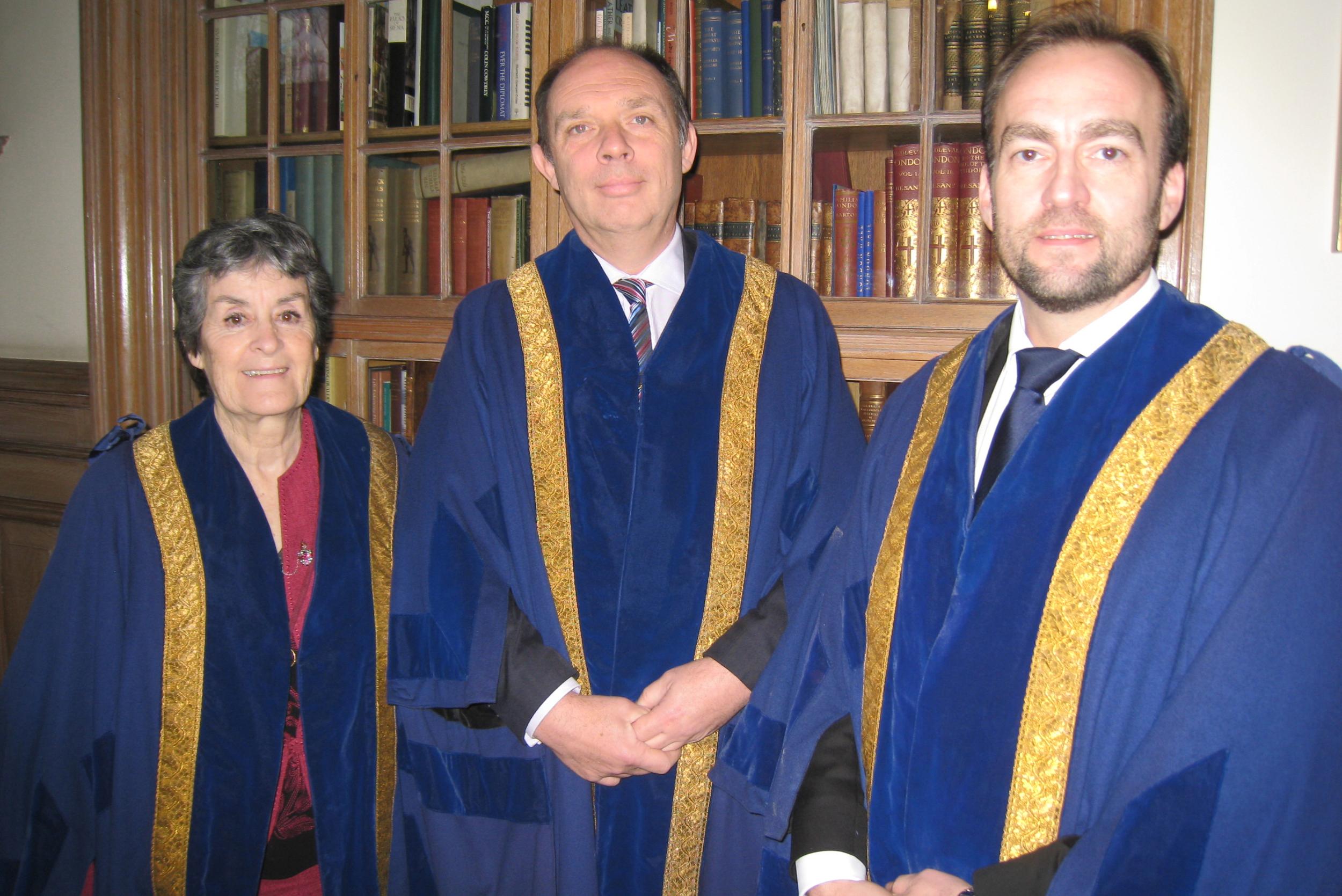 New Liverymen - Dorothy Rochester, Paul Day, Adam Robinson