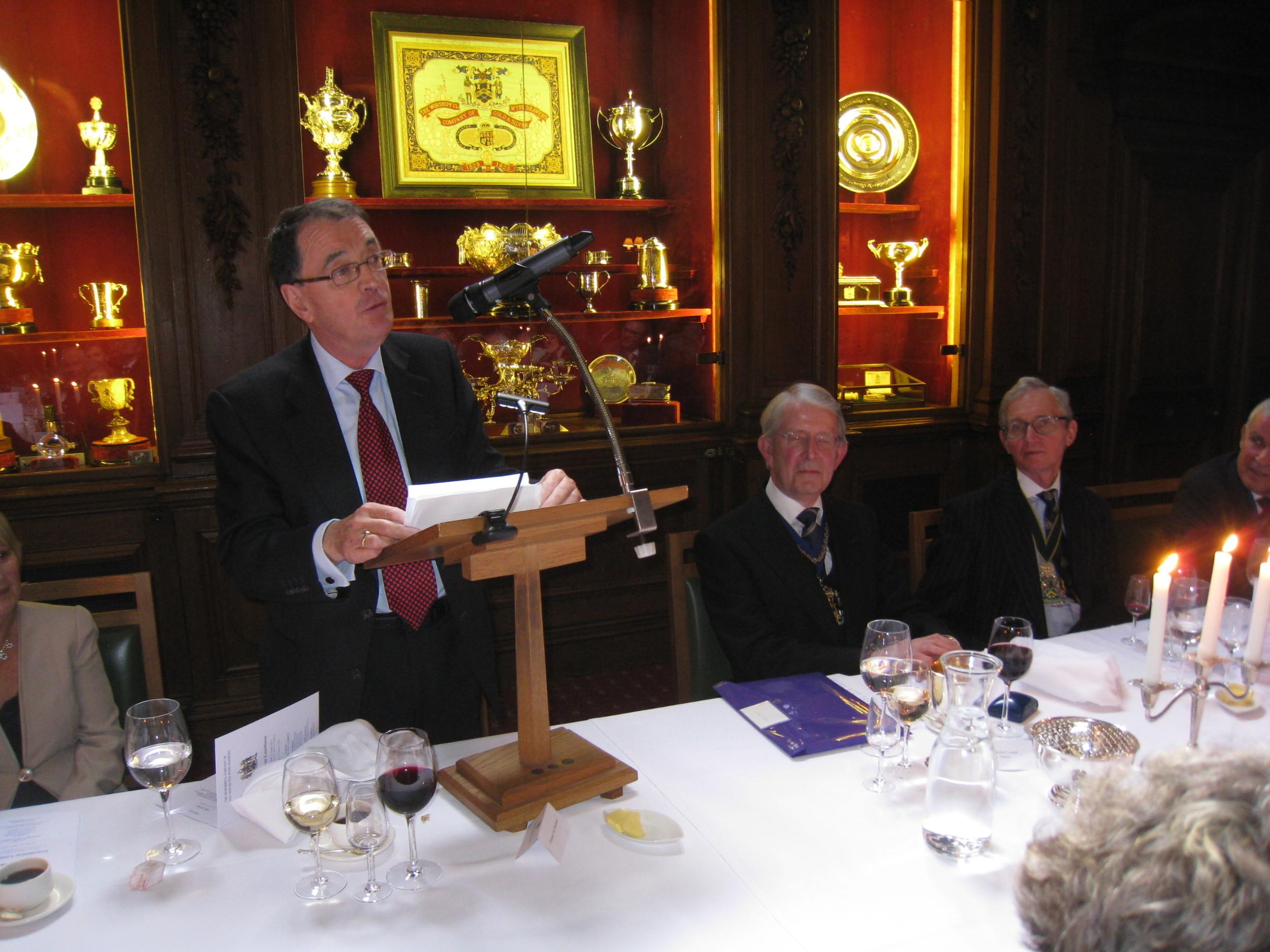 Guest Speaker - Professor Tony Stockwell