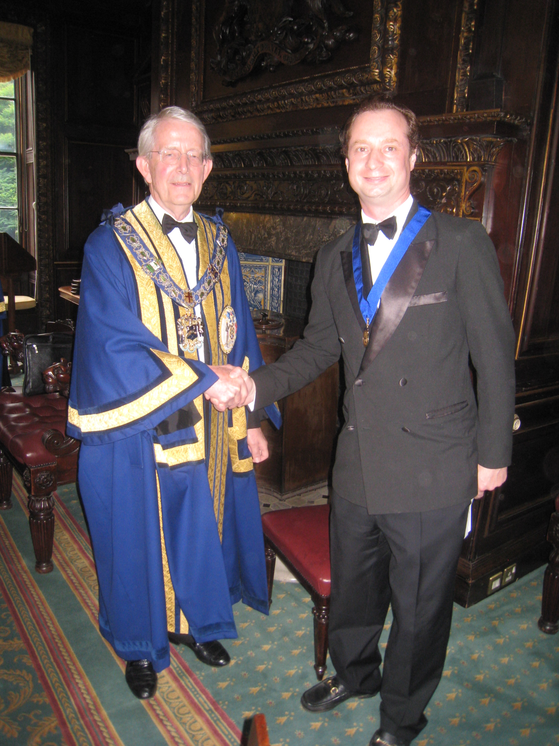 Master & New Assistant William Fitzgerald-O'Connor