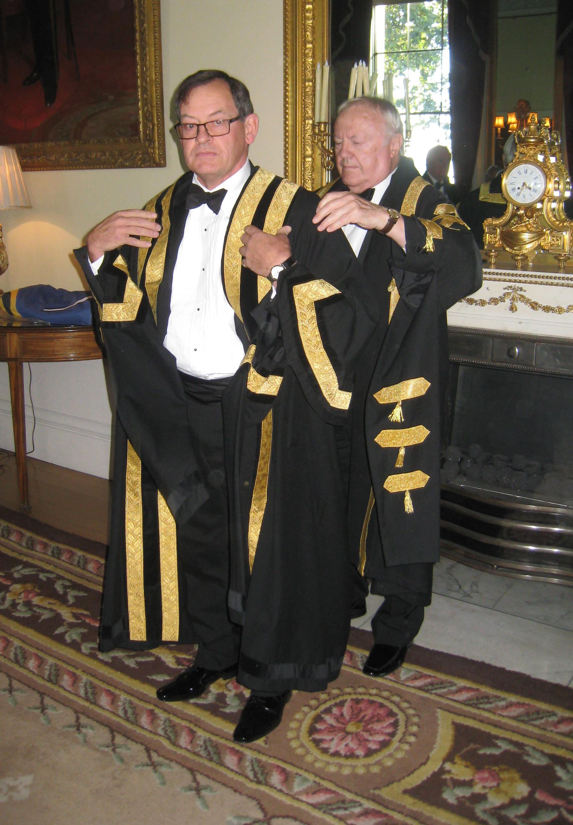 Cdr Mark Dickens RN installed as Clerk