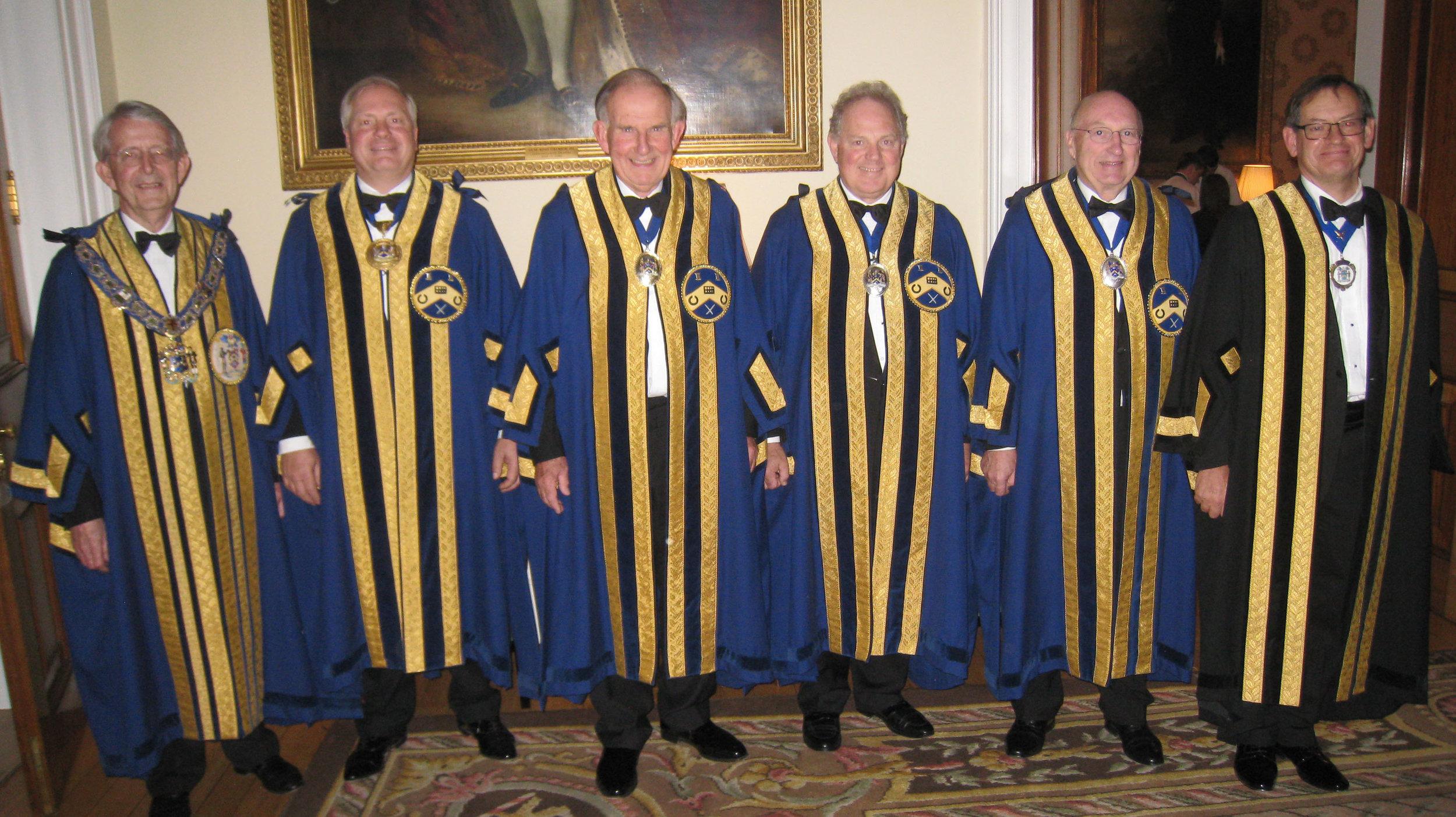 Master, Four Wardens & Clerk