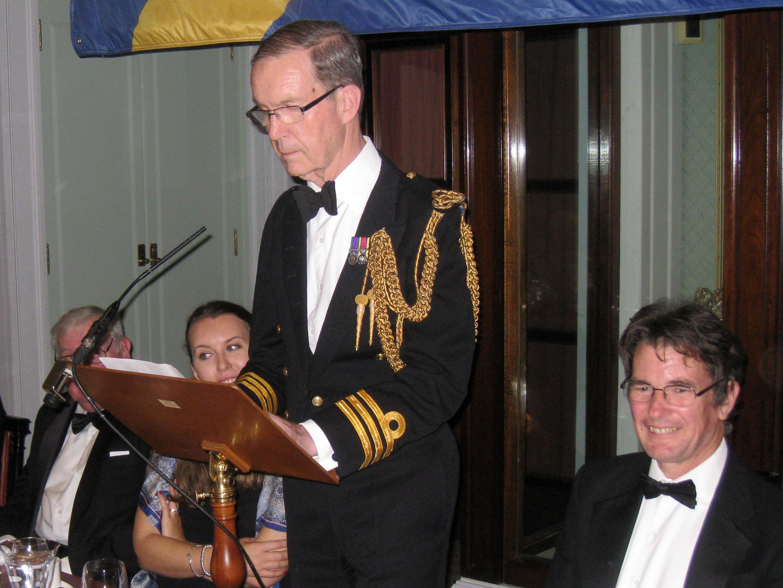 Retired Clerk Cdr Robin House RN - Hon Liveryman
