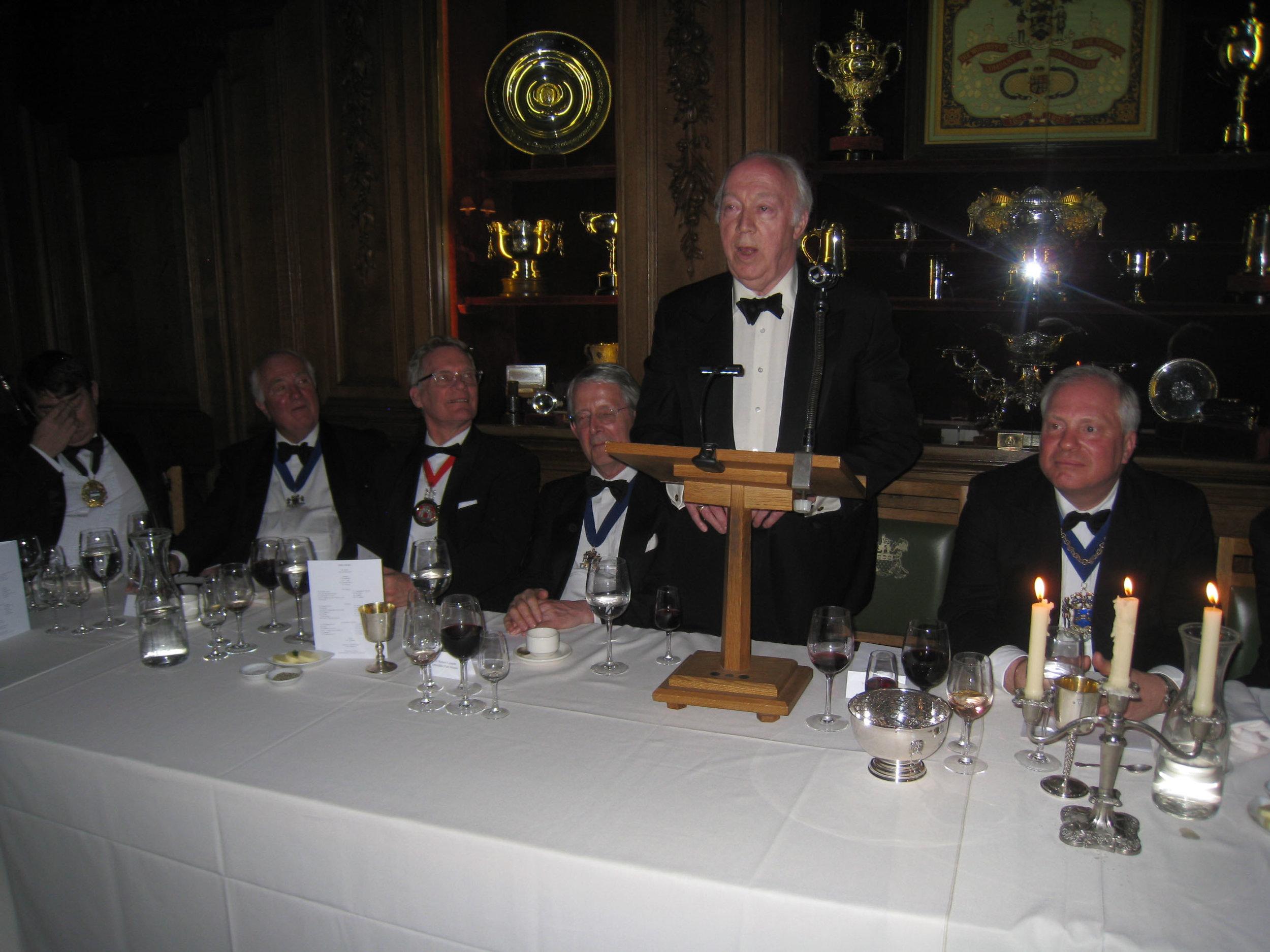 Guest Speaker Mr Peter McKinley
