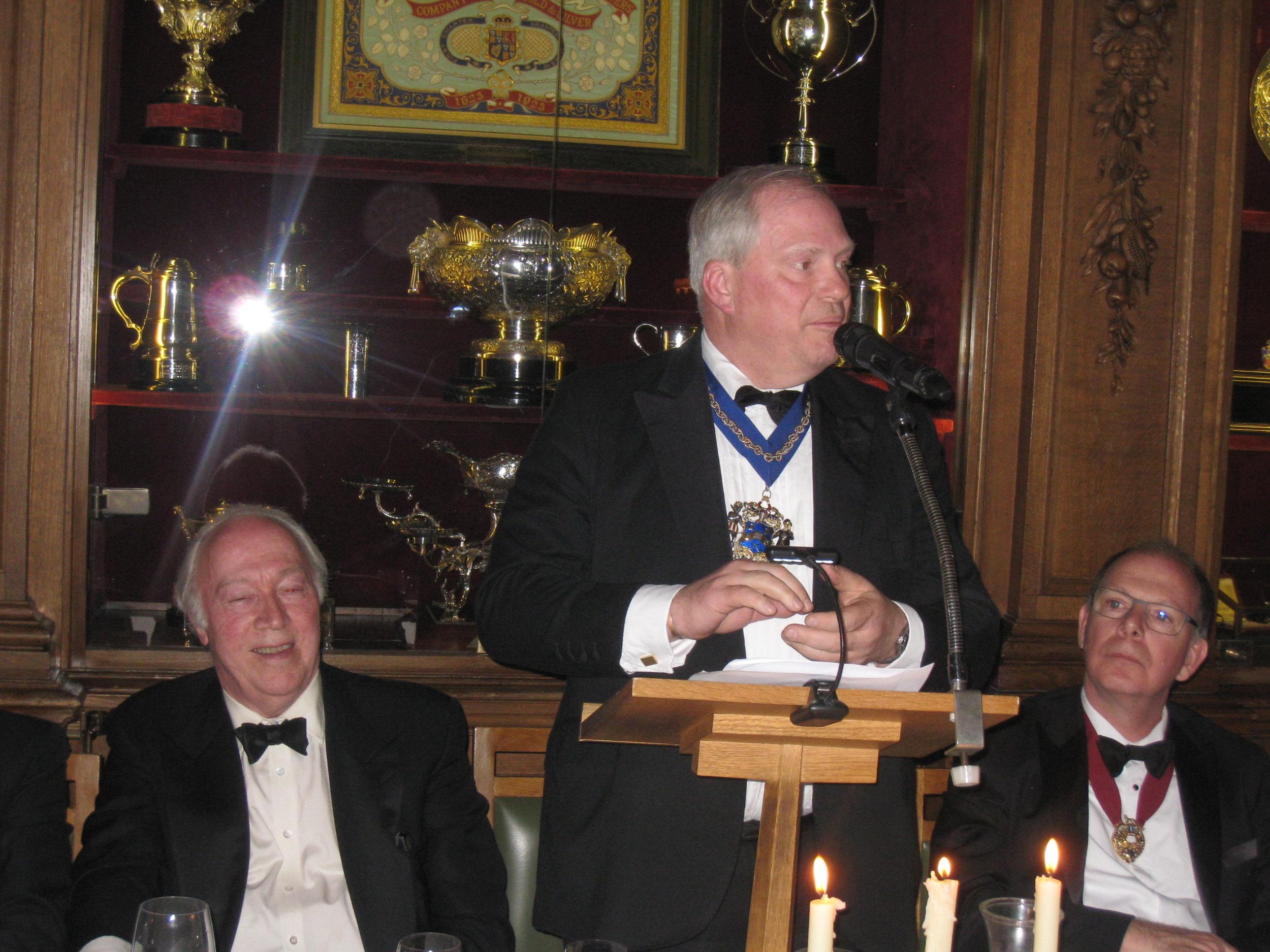 Guest Speaker, The Master, Master Skinner