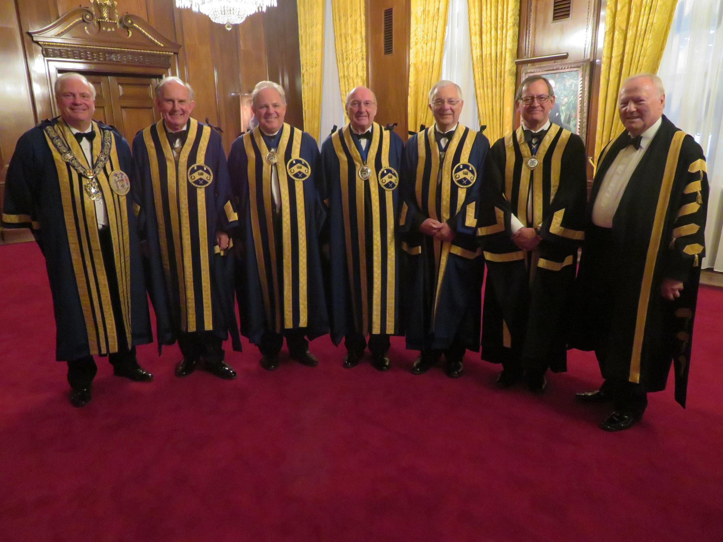 Master, Wardens, Clerk & Beadle