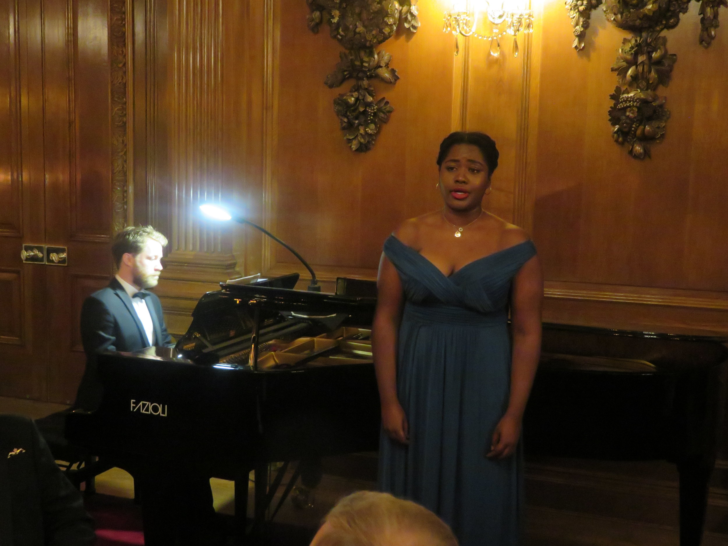 Chad Vindin (Piano) & Nardus Williams (Soprano)