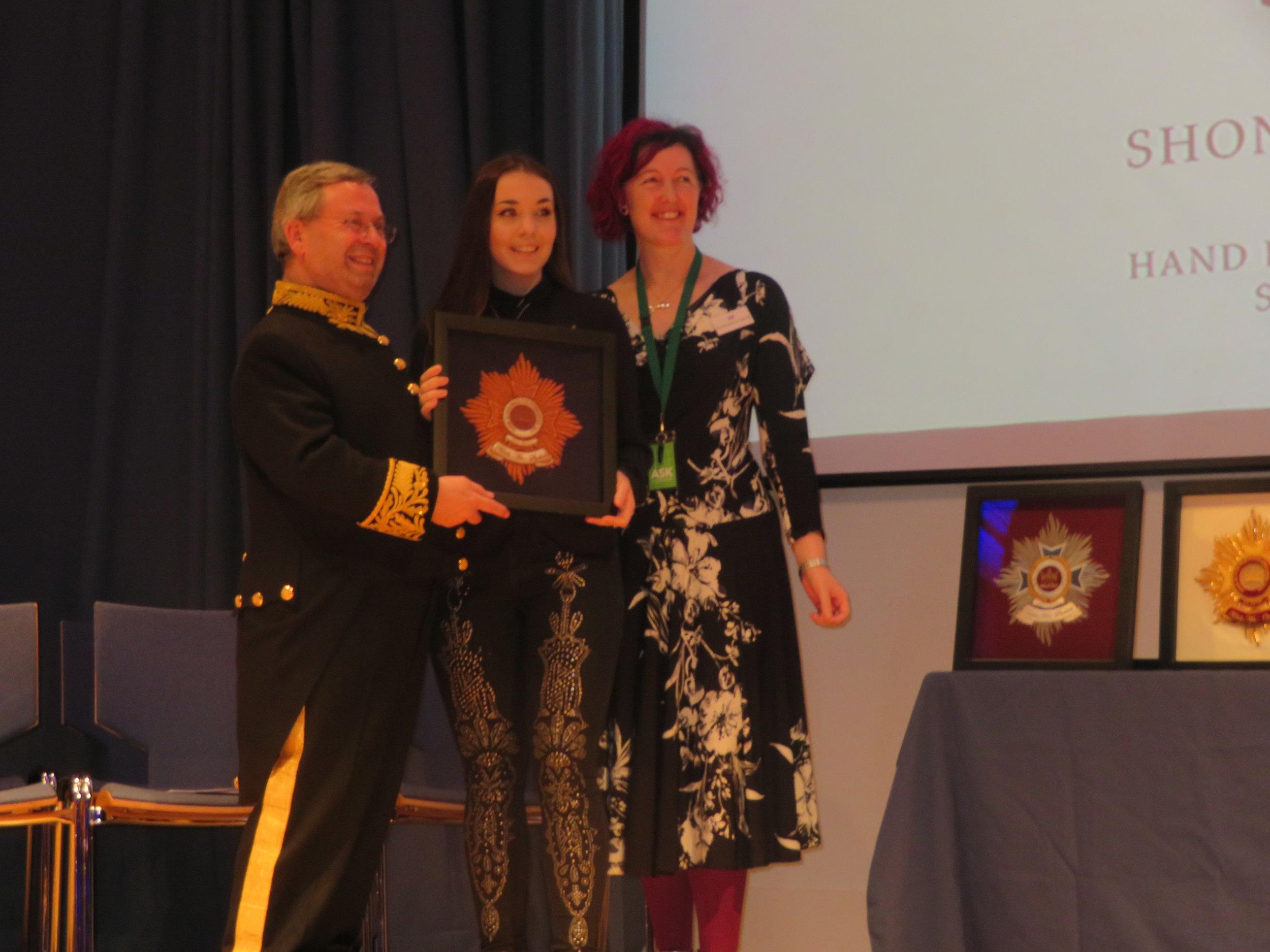 Bronze Winner Student Textile - Shonaegh Cochlan