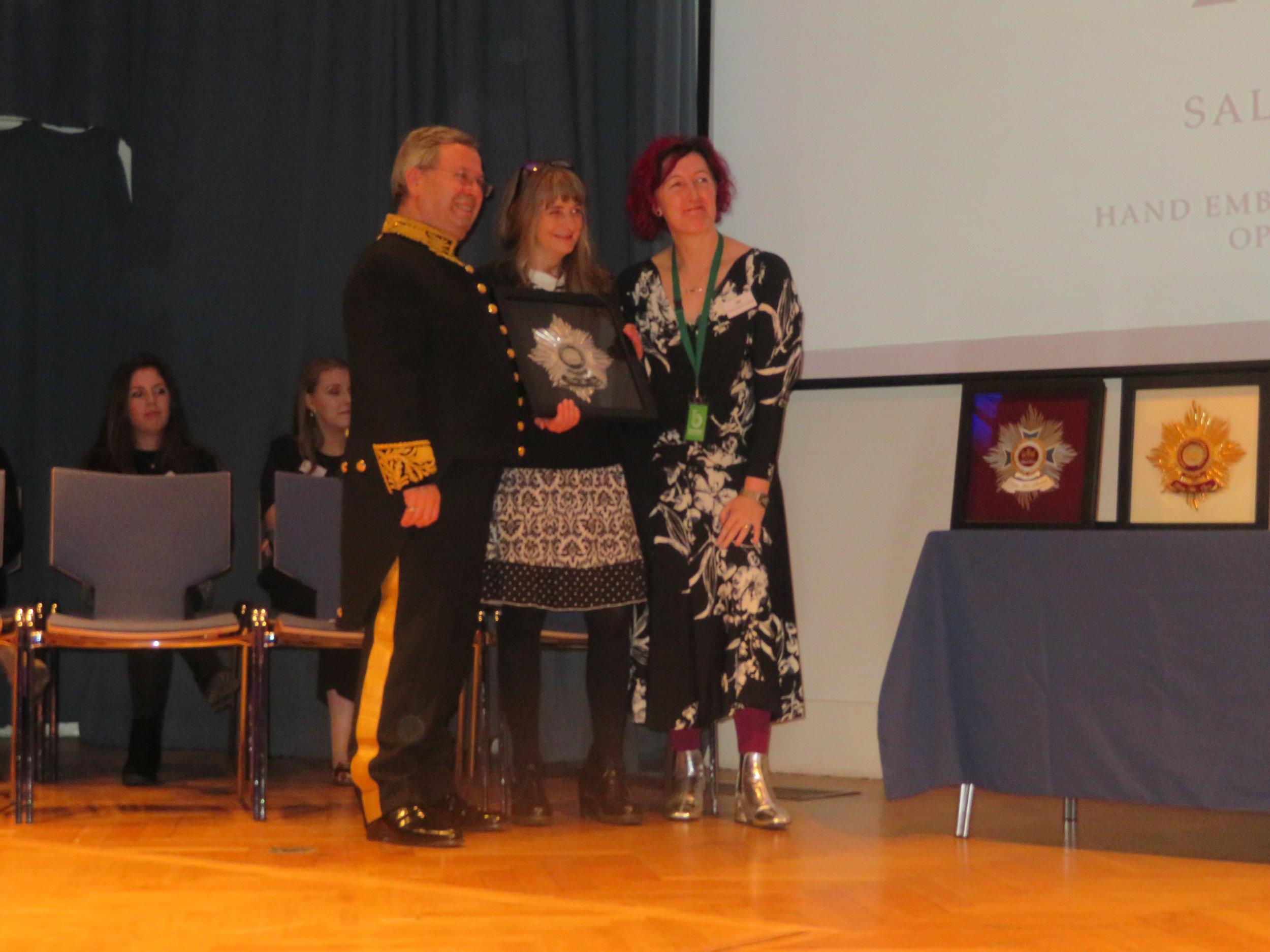 Silver Winner Open Textile - Sally Wilson