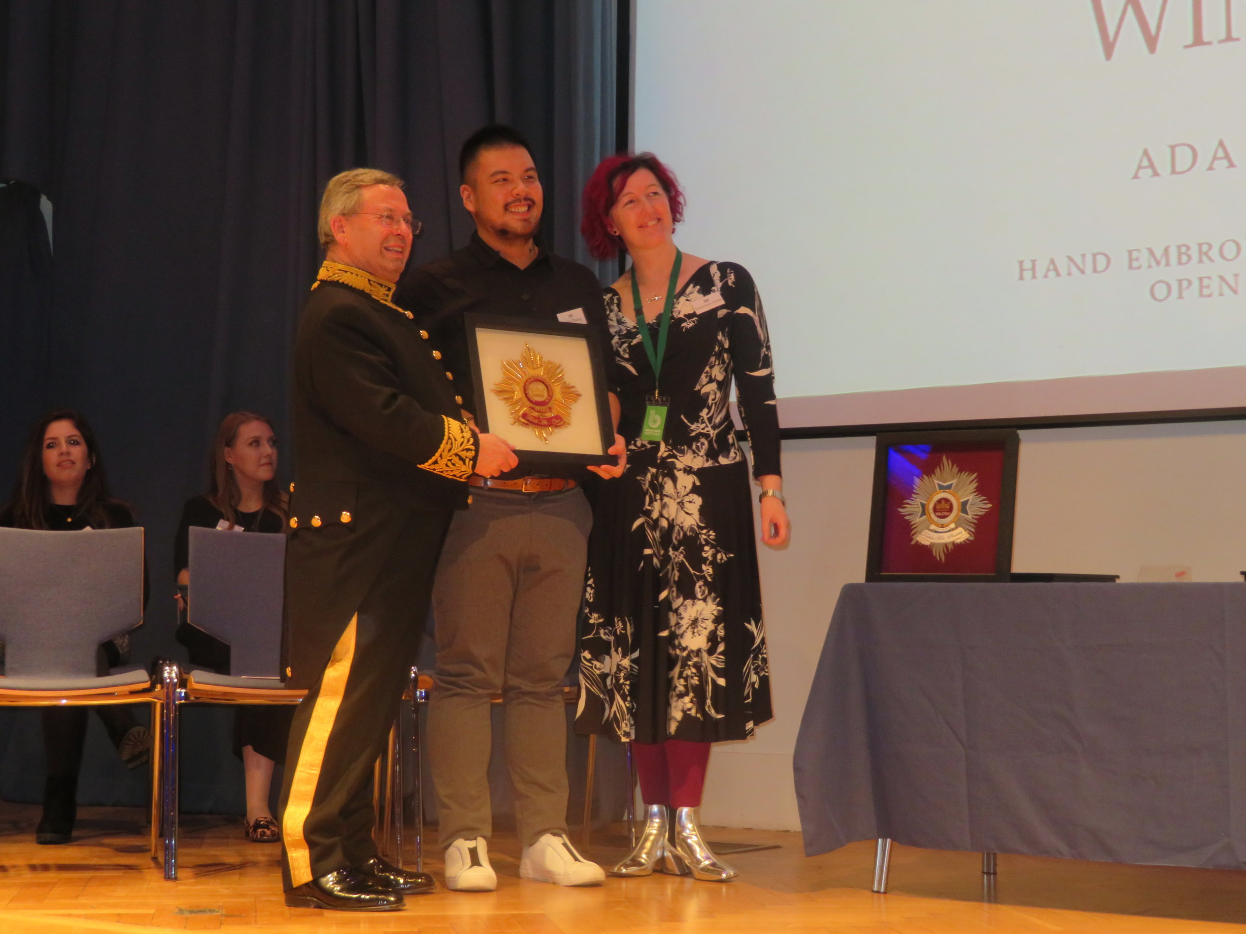 Gold Winner Open Textile - Ada Zhang