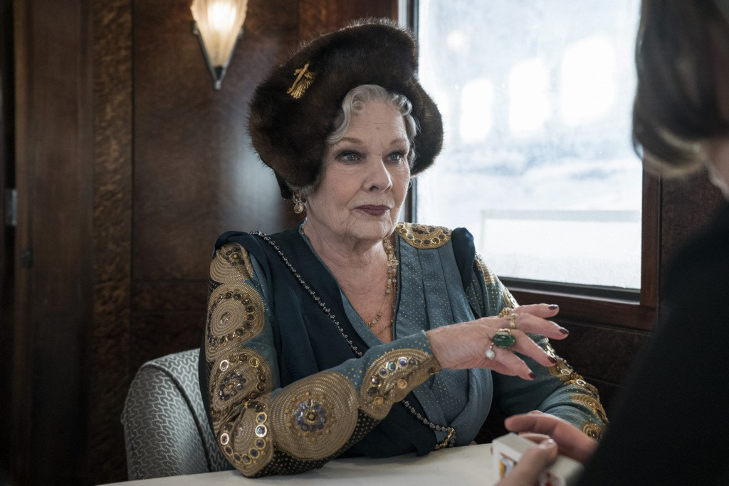 2 - Princess Dragomiroff (Judi Dench)