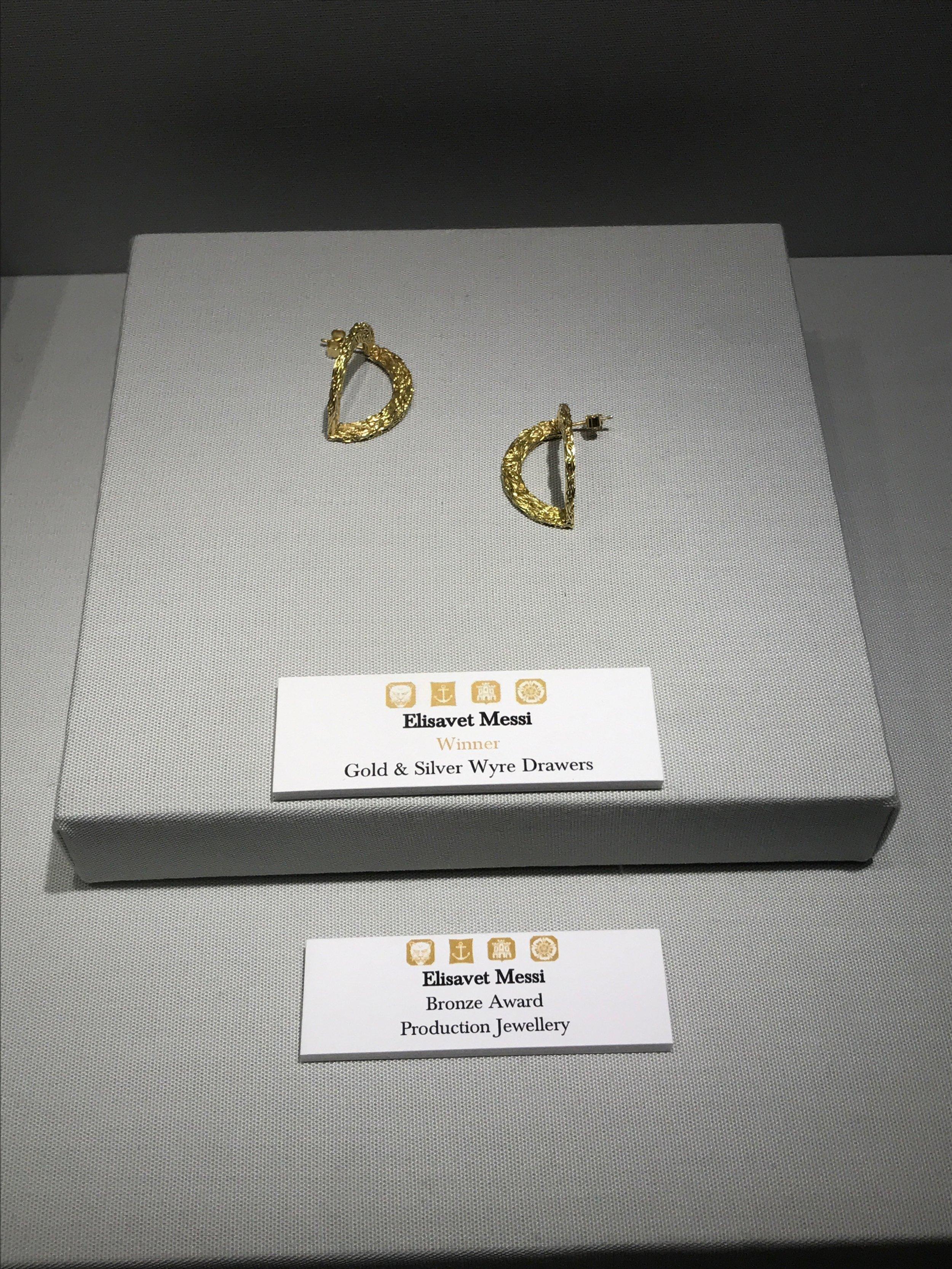 Elisavet Messi Award Earrings