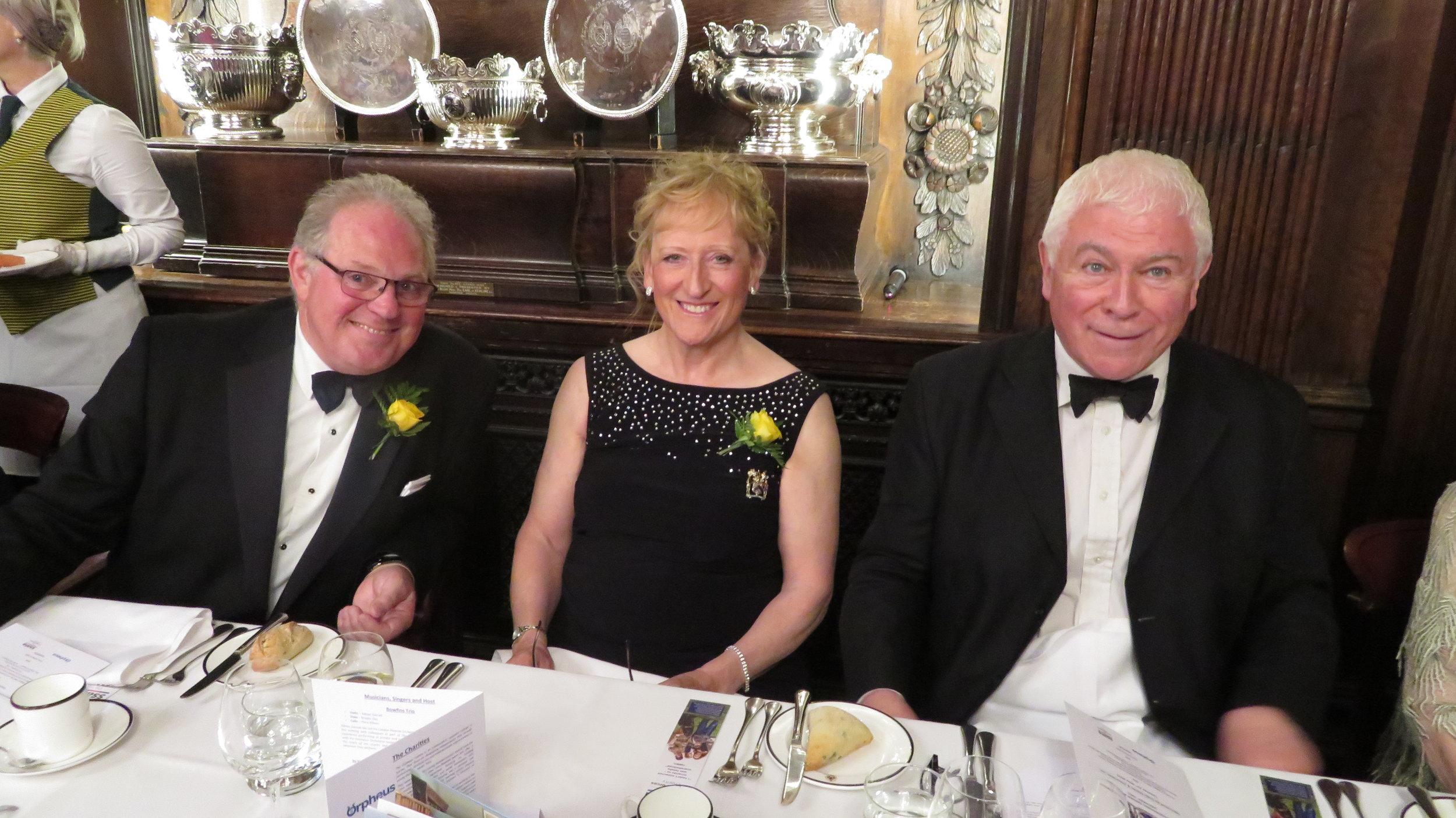 The Master, The Mistress & Sean Rafferty MBE
