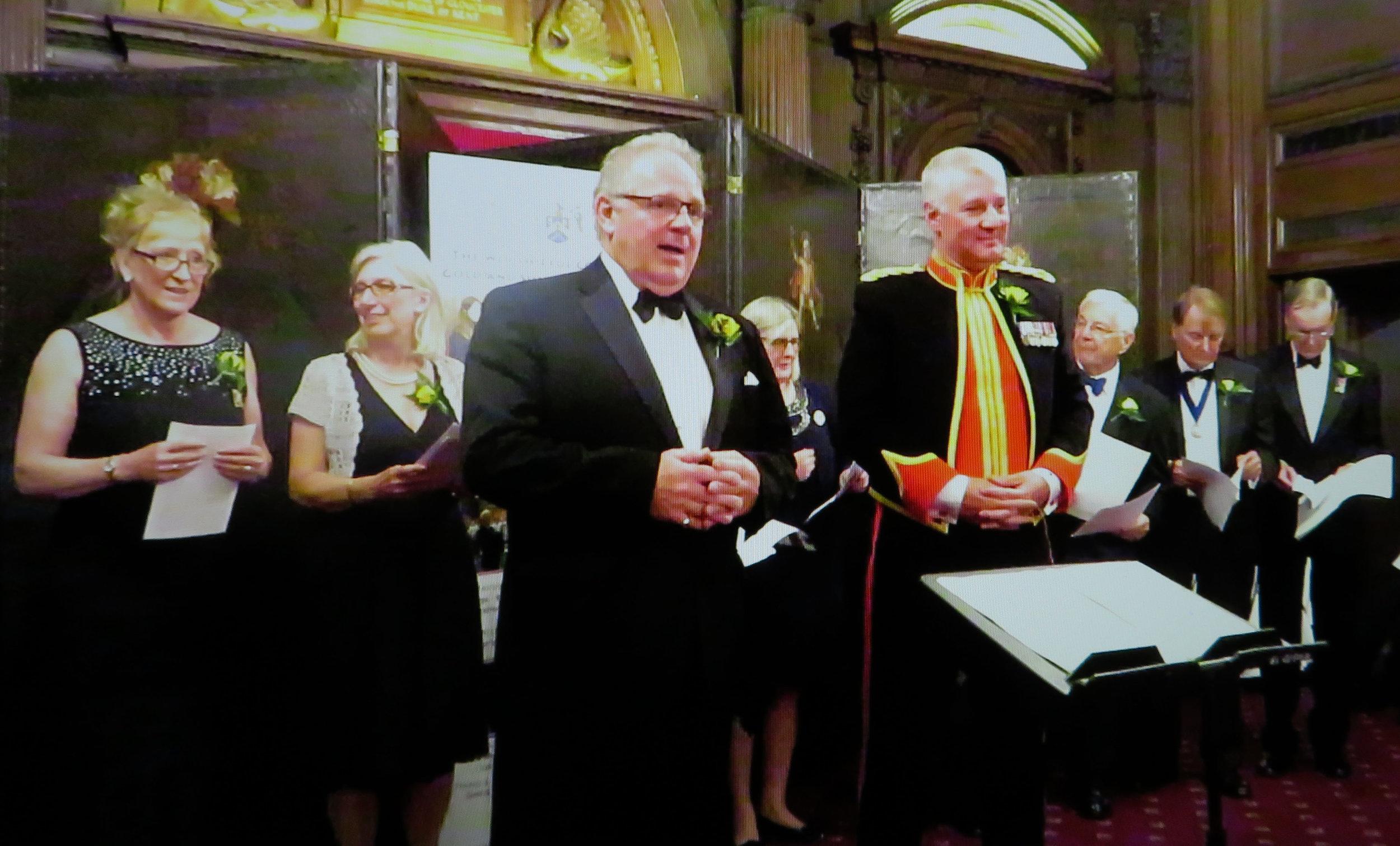 The Master, Major Craig Hallatt BA (Mus) & The Choir Drawers