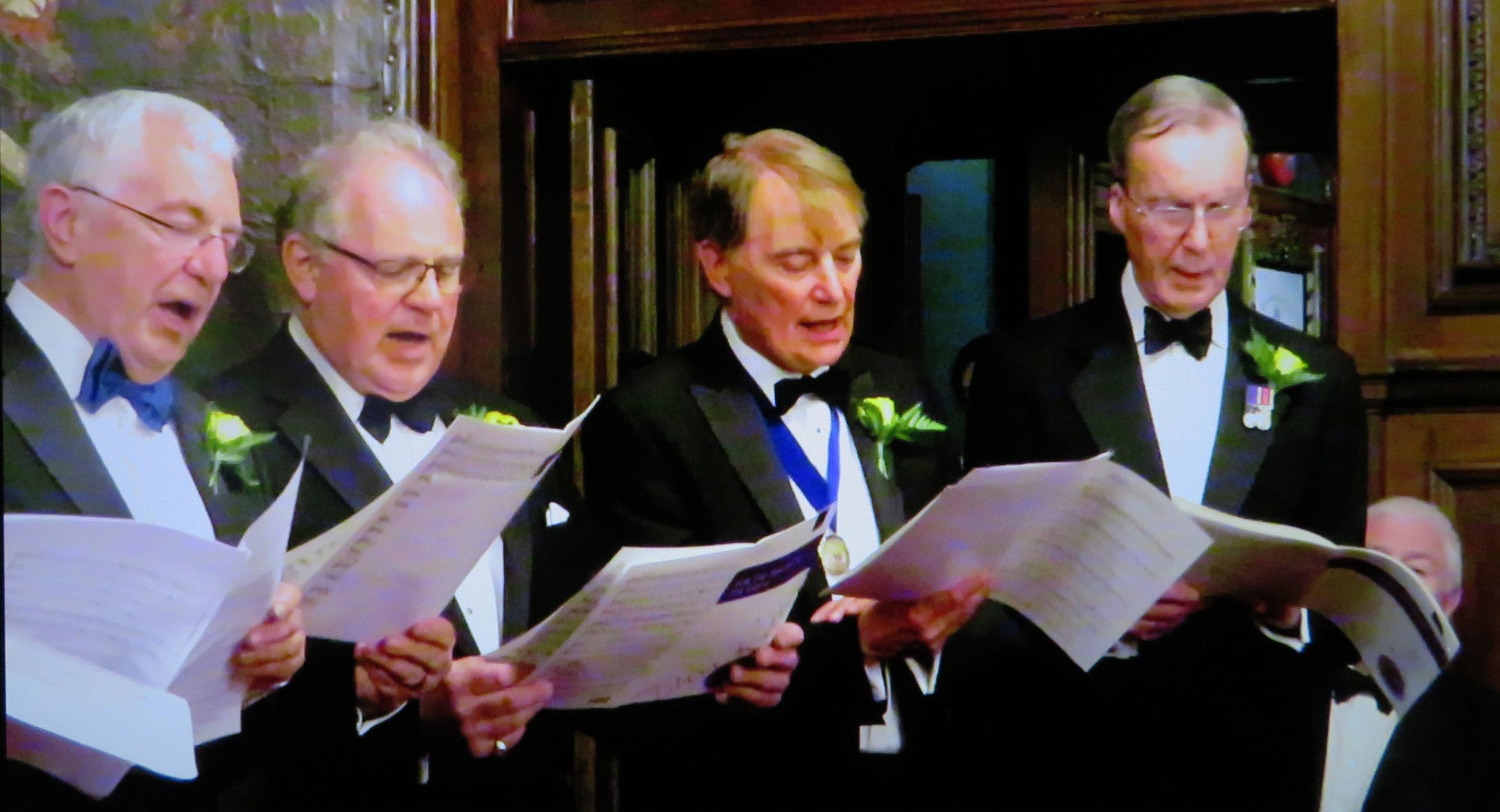 Gordon Warren, Malcolm Craig, Roger Carter, Robin House