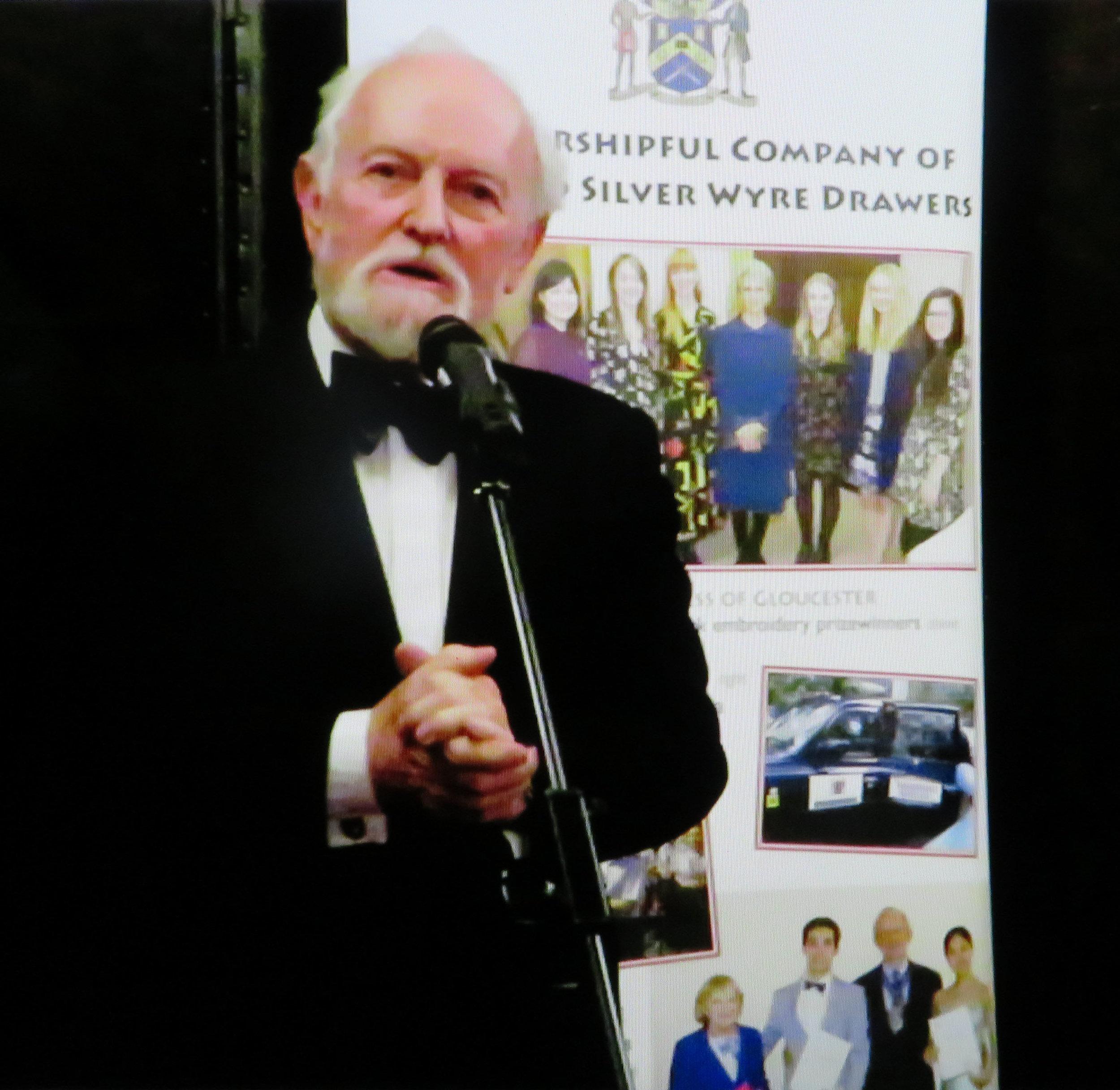 Sir Richard Stilgoe OBE DL