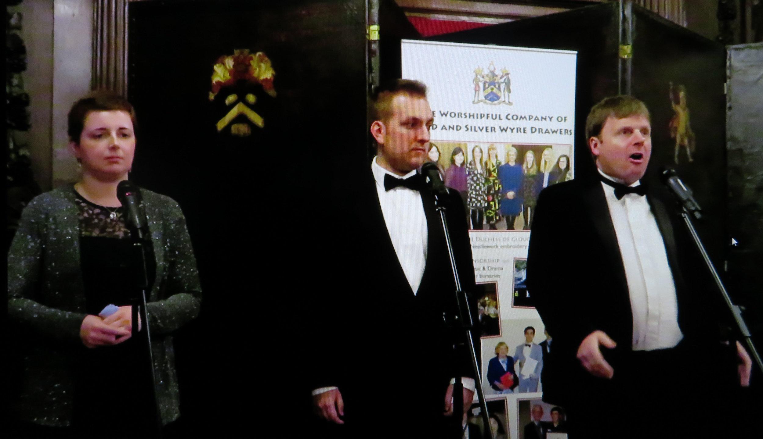 Orpheus Students - Charlotte Rowling, Thomas Puttock & Angus Morton