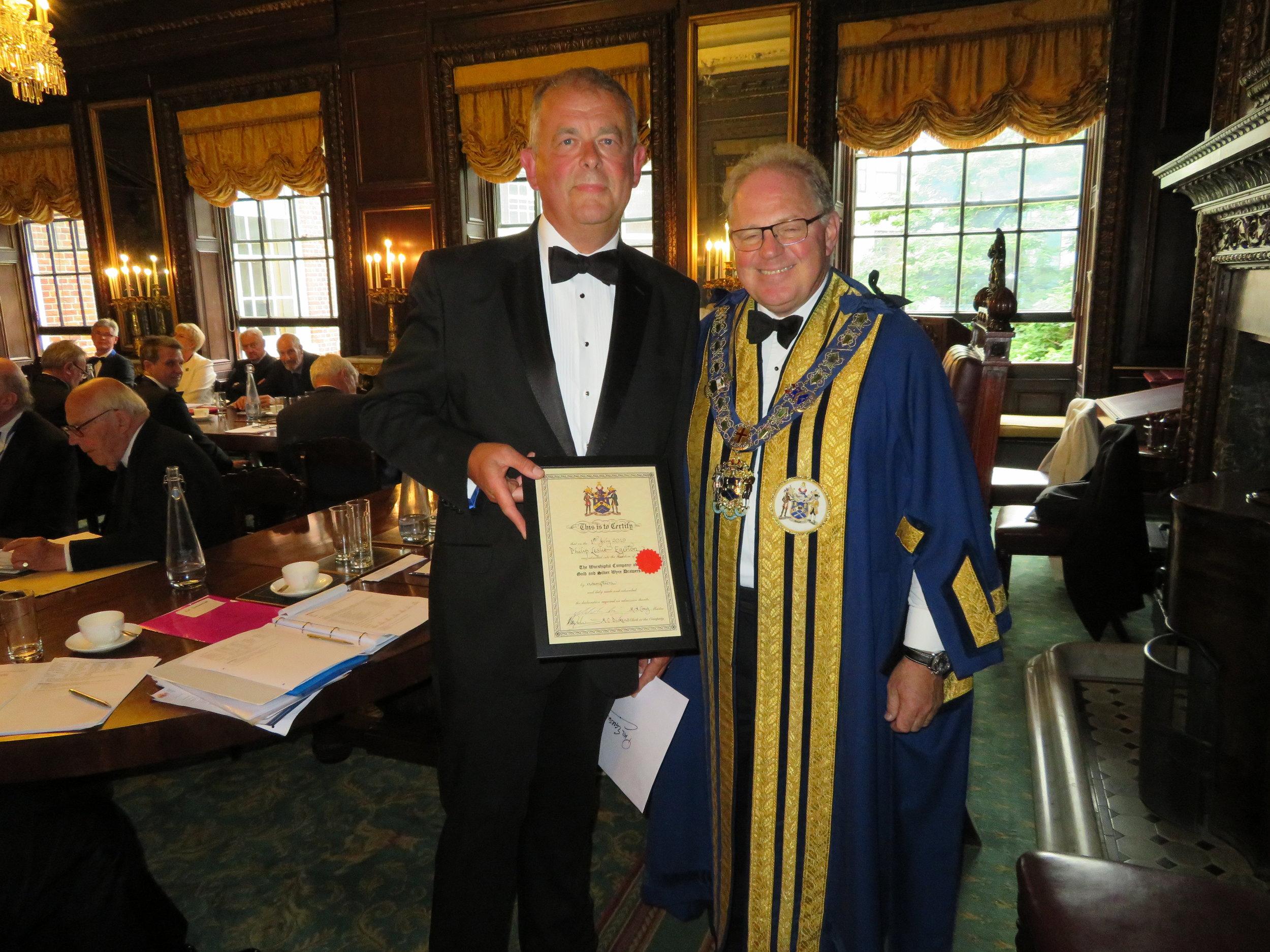 Freeman Phillip Egerton & The Master