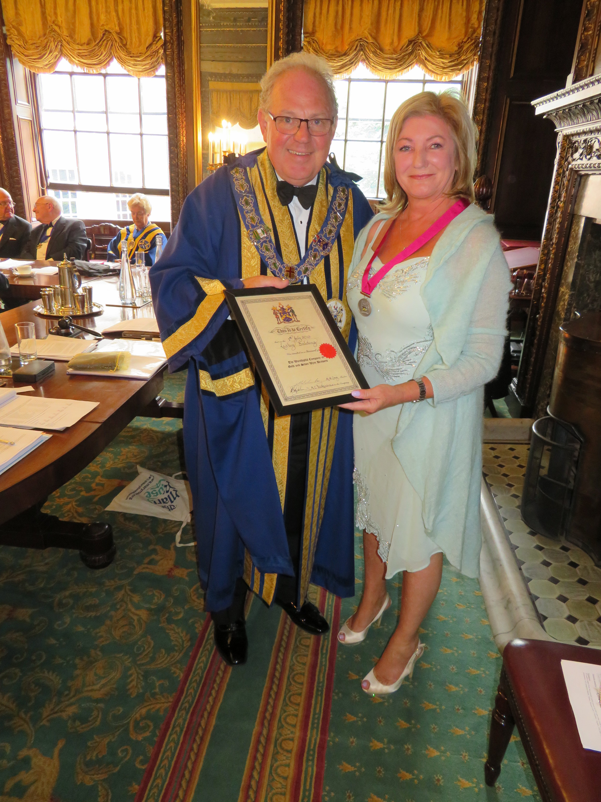 The Master & Steward, Liveryman Lesley Balding