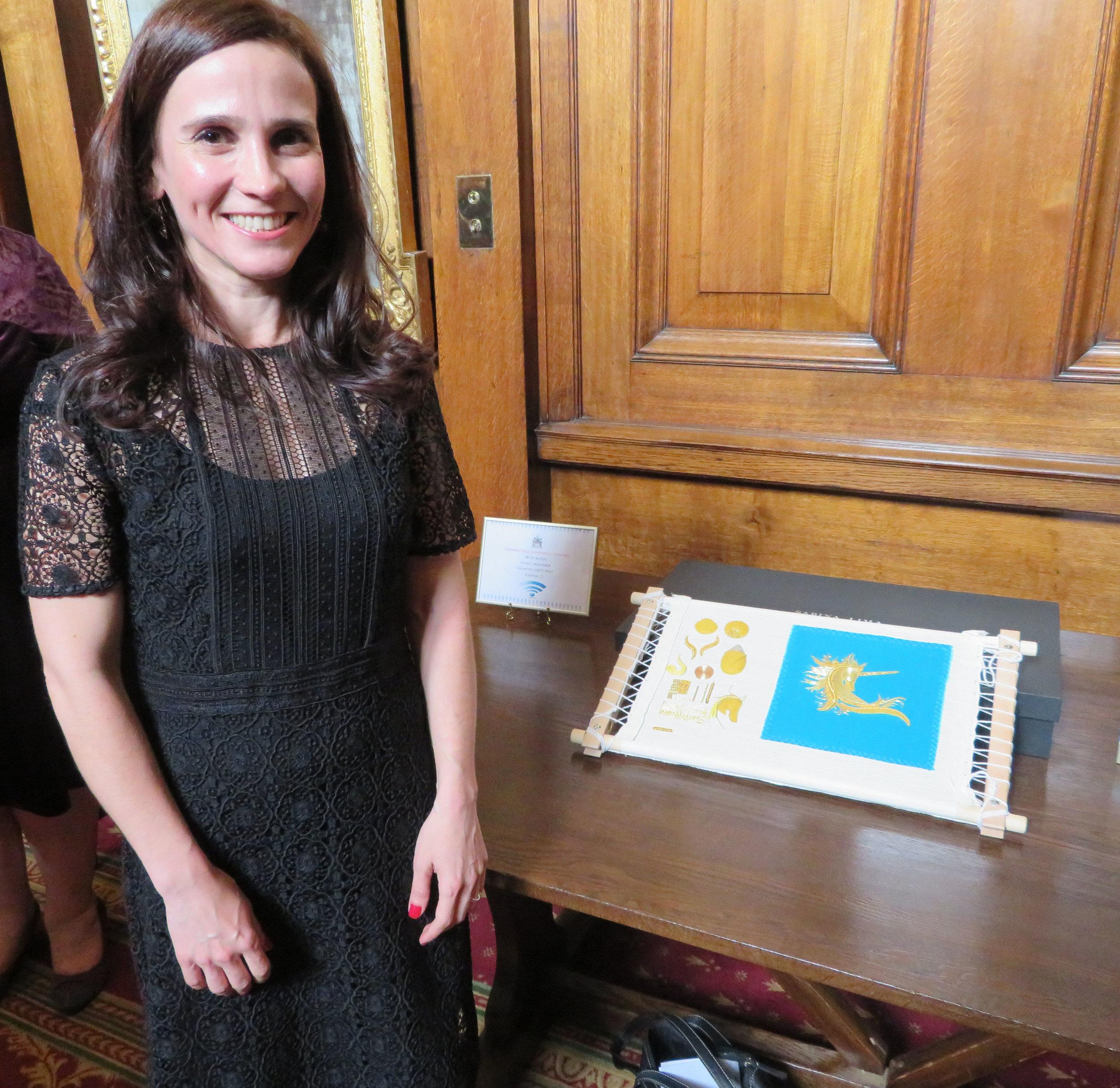 RSN Prize Winner Sabina Lima