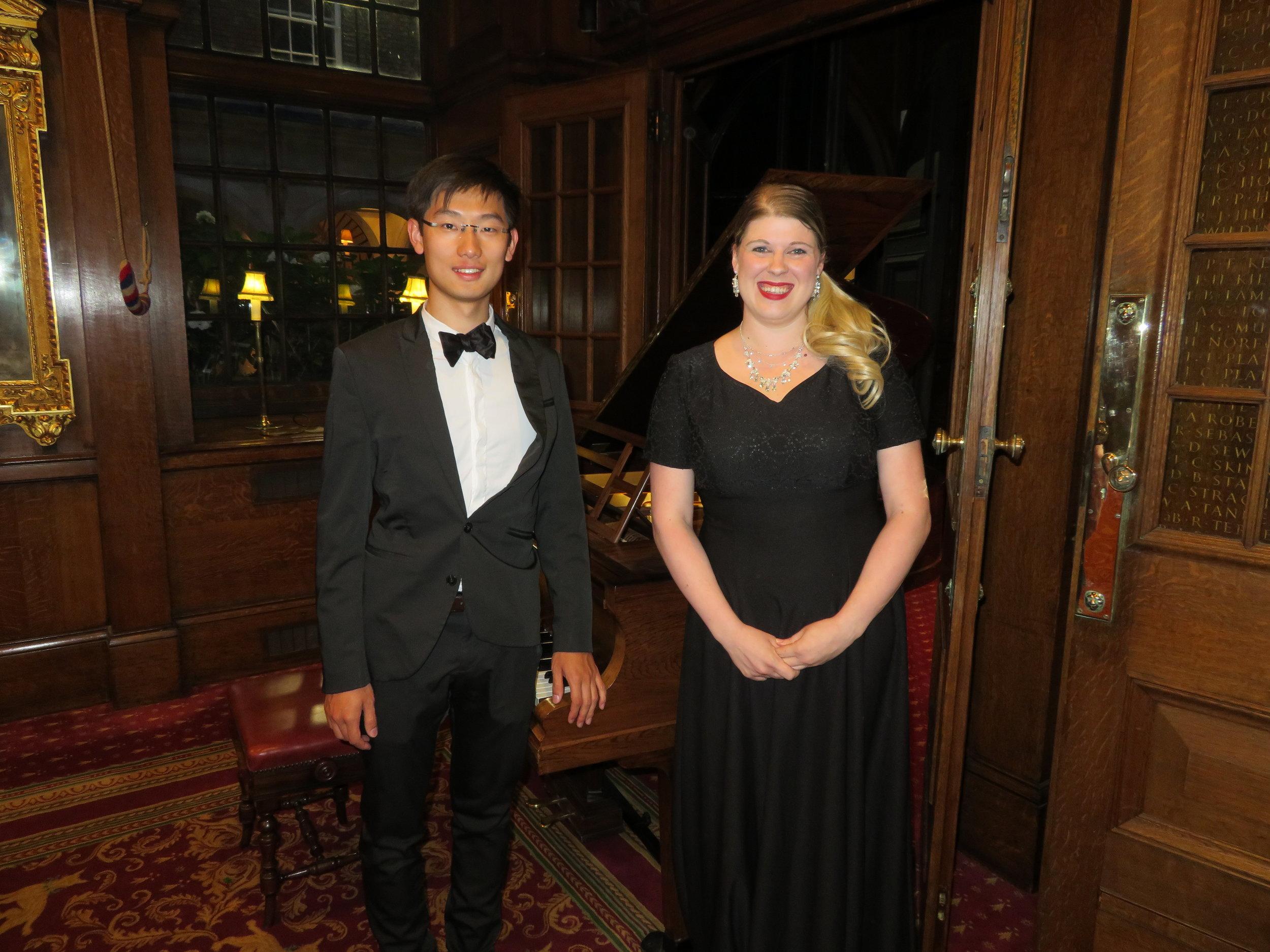 Pianist Jack Wu & Classical Soprano Alexandria Wreggesworth