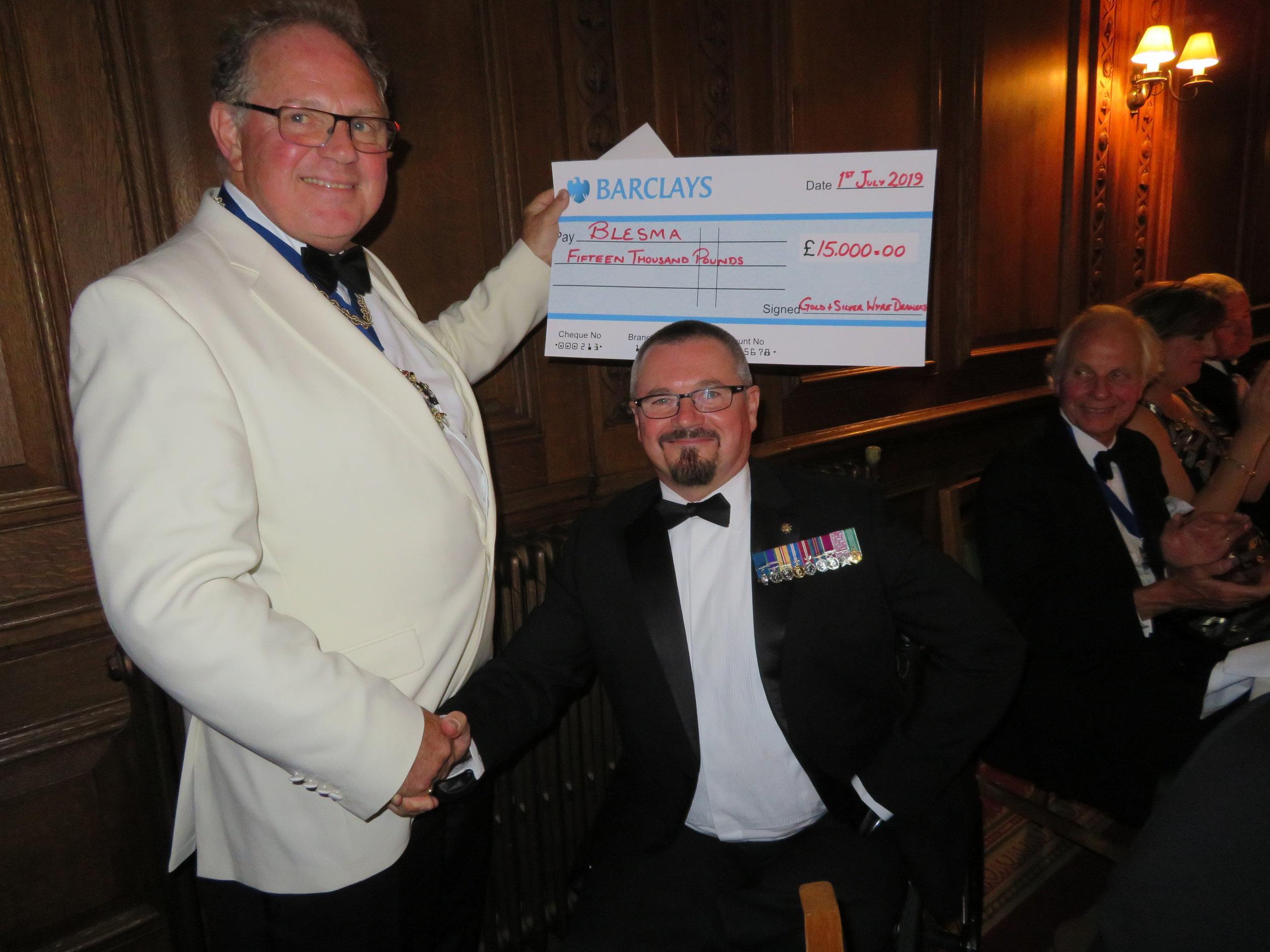 The Master & Major Pete Norton GC RLC