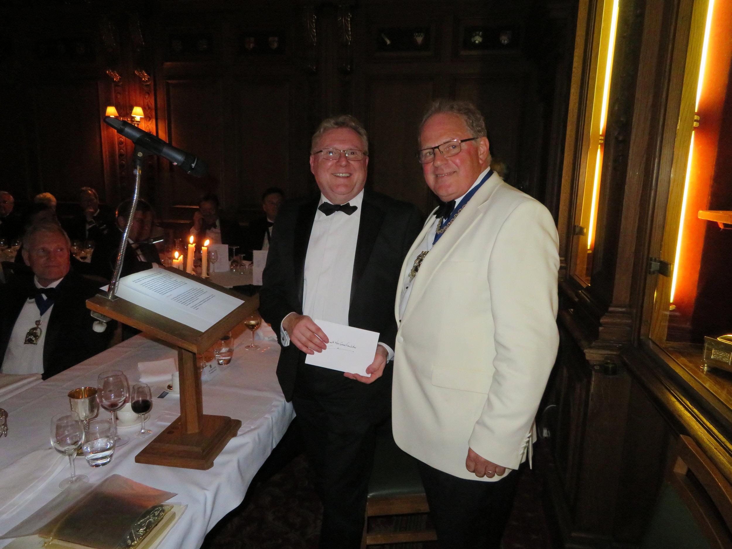 Mark Smith, Principal Guest & The Master