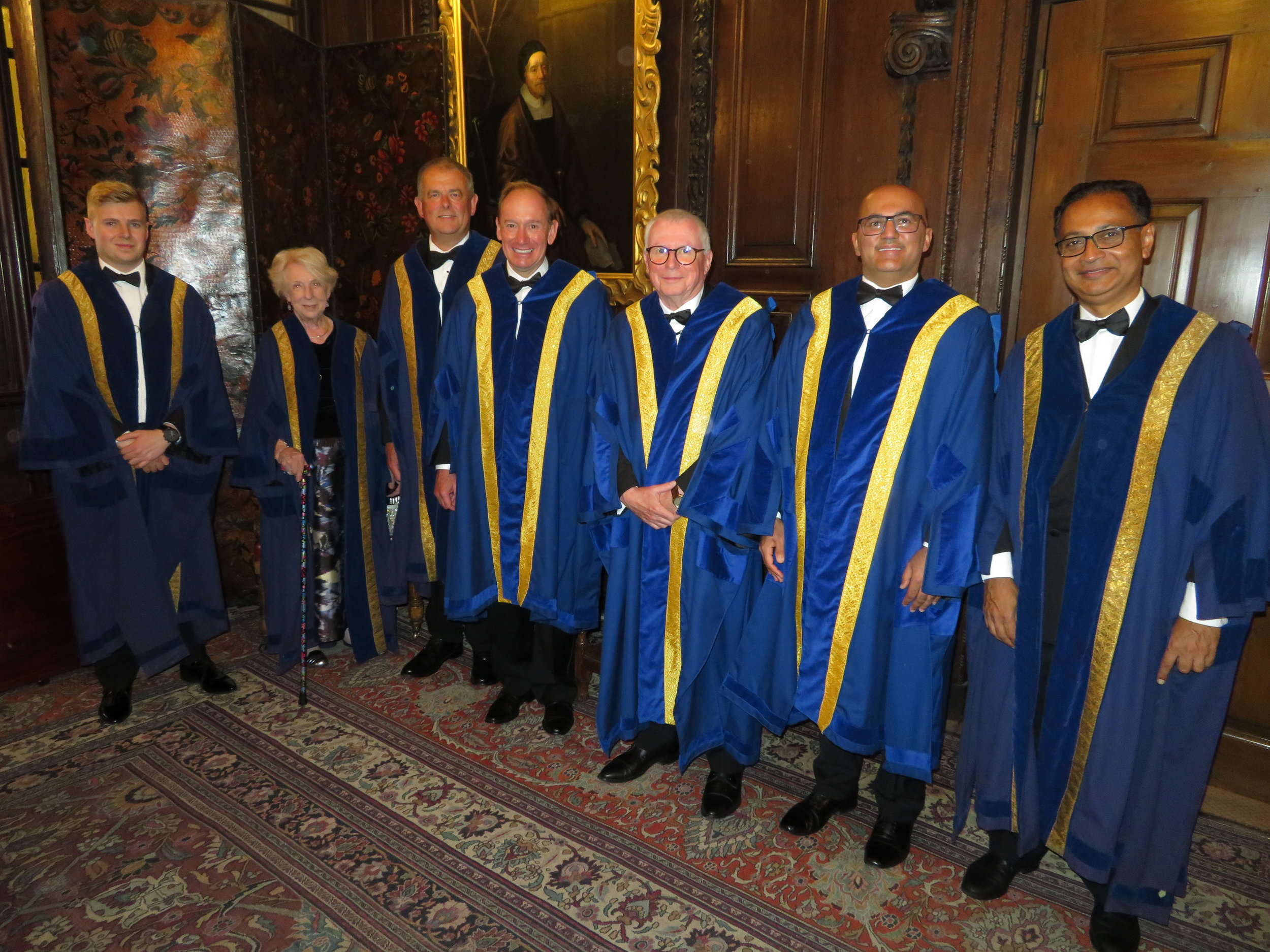 The seven new Liverymen