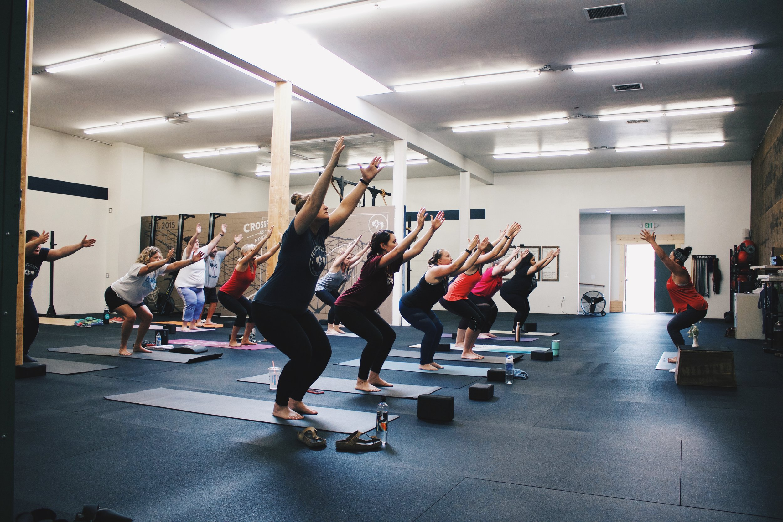 Yoga class - Our yoga class is designed specifically for beginners and those wanting to reduce stress. Not those looking for a good workout.Mondays7:00 pm