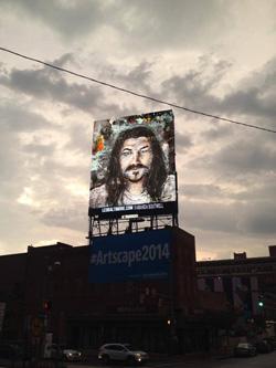 LED Art Billboard