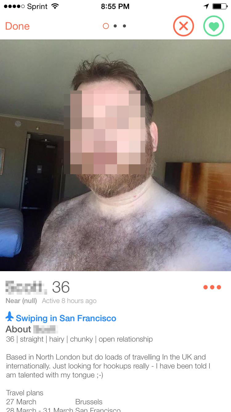 DON'T BE GROSS. AND WE DON'T MEAN THE CHEST HAIR.