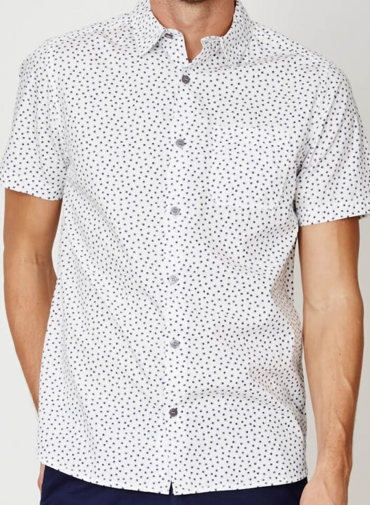 Thought short sleeve button down white.jpg