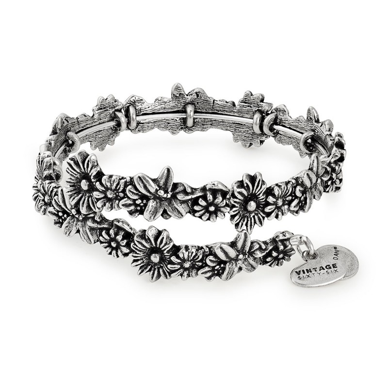 Alex and Ani Flora Wrap Bracelet - $48