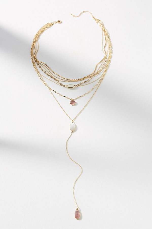 Anthropologie Logan Layered Y-Necklace - $58