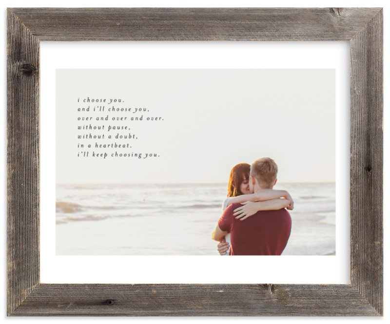 Minted Minimalist Quote Keepsake - $29-$248 *