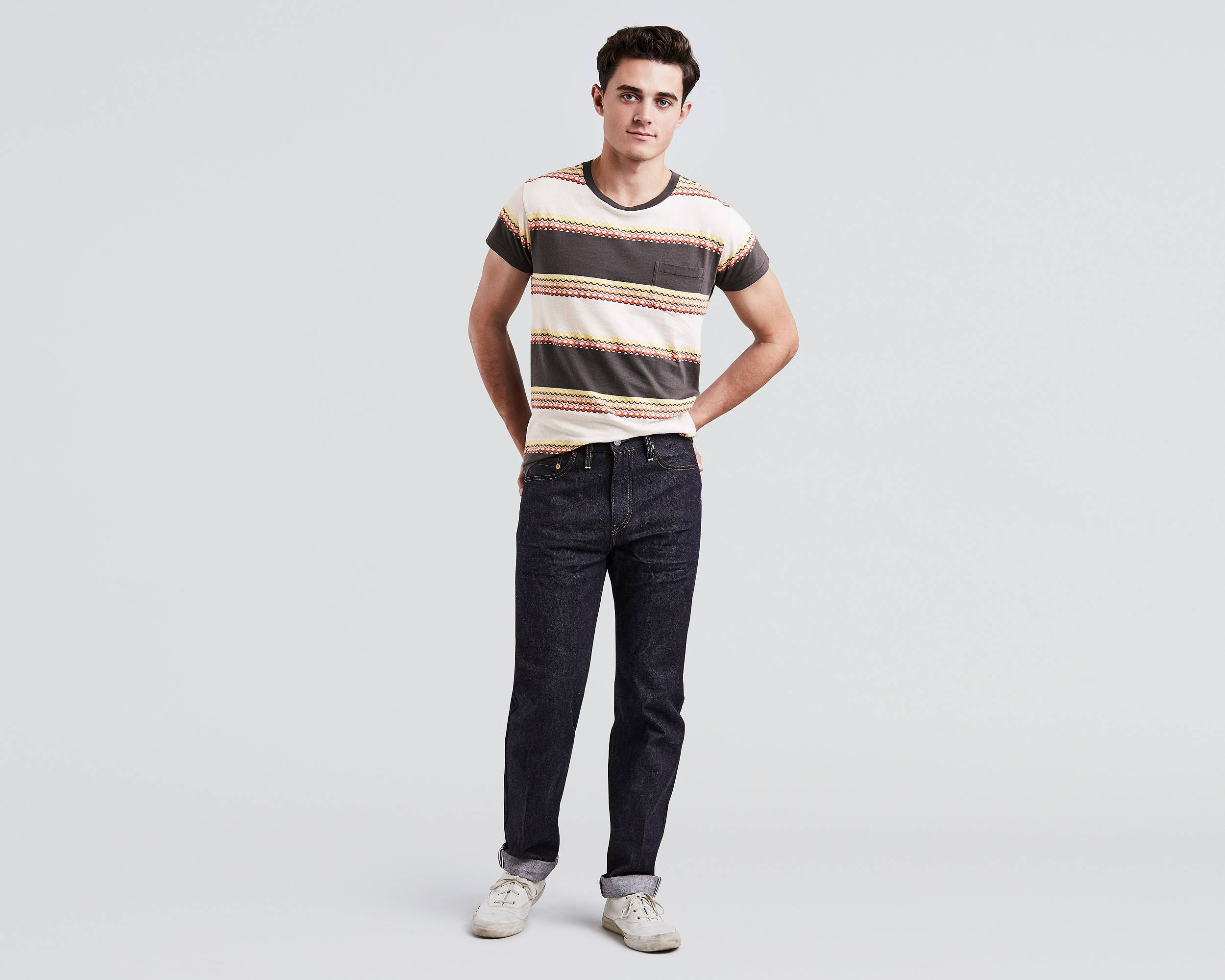 Levi's 1954 501s - Made in their last standing American denim factory, these Levi's are as close as you can get to the OG: made in America in a slimmer cut.*