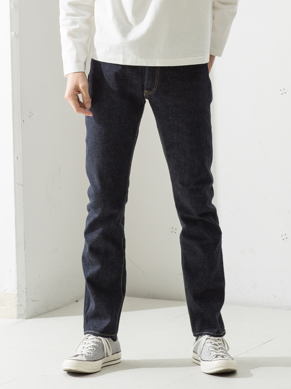 Denime One-wash Slim STR XX type-2 - These are the only one-wash jeans in our picks. This means they won't shrink as much as the other pairs we listed, and less indigo will come out over the first year or so. So if you are looking for less work in your pair of jeans, these are for you.