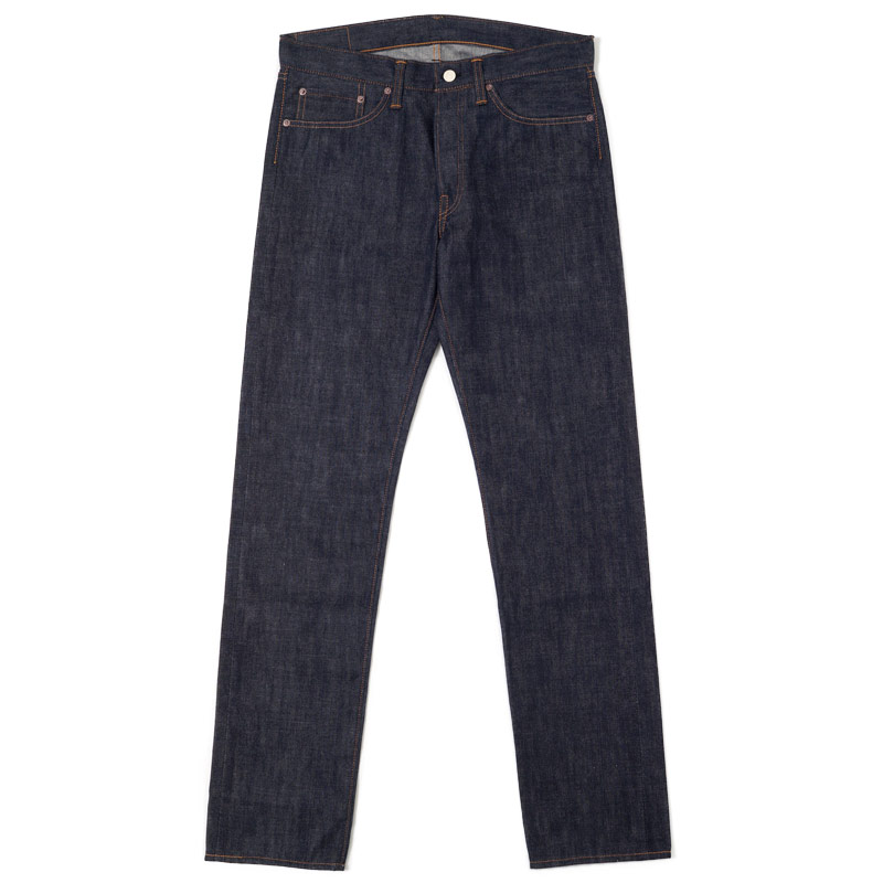 Warehouse & Co. Lot 900 Slim Raw Denim Jeans - If you are looking for an extremely simple pair of classicly constructed jeans, then these are your pick. No pocket design, no flourishes. Just. Jeans.