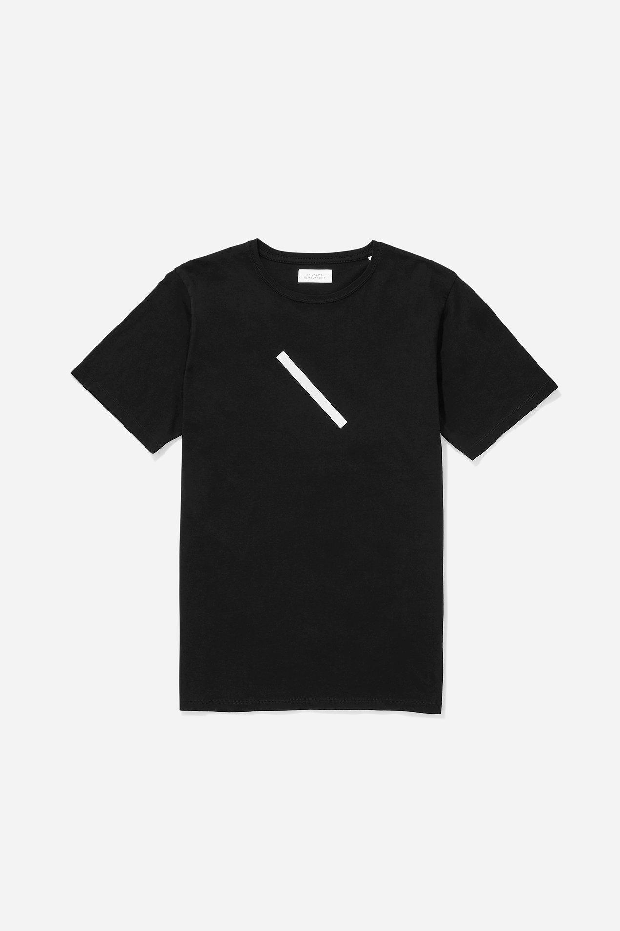 Saturdays NYC slash t-shirt- black.jpg