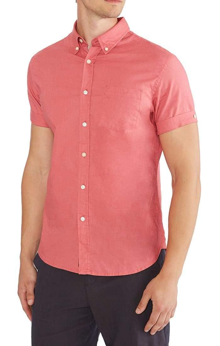 Jachs ny short sleeve stretch cotton linen shirt.jpg
