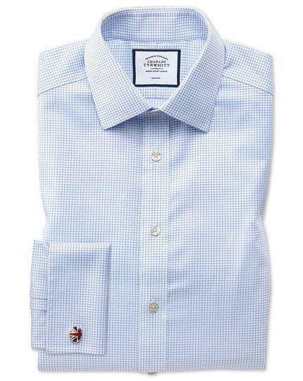 Charles Tyrwhitt blue check dress shirt.jpg