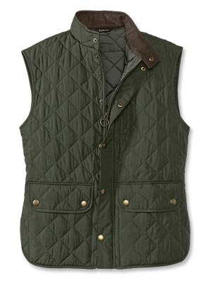 Barbour Lowerdale Gilet - A brand name, sophisticated vest you can show off to your team without reservation. *