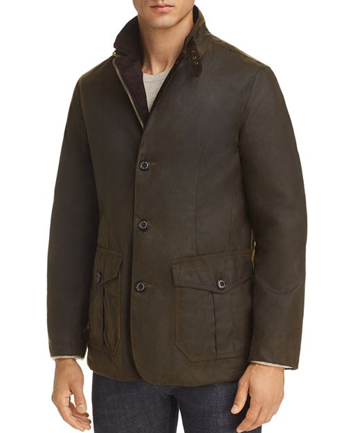 Barbour Lutz Waxed Jacket -