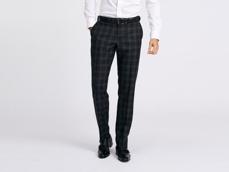 Indochino Prescot Windowpane Wool Pants