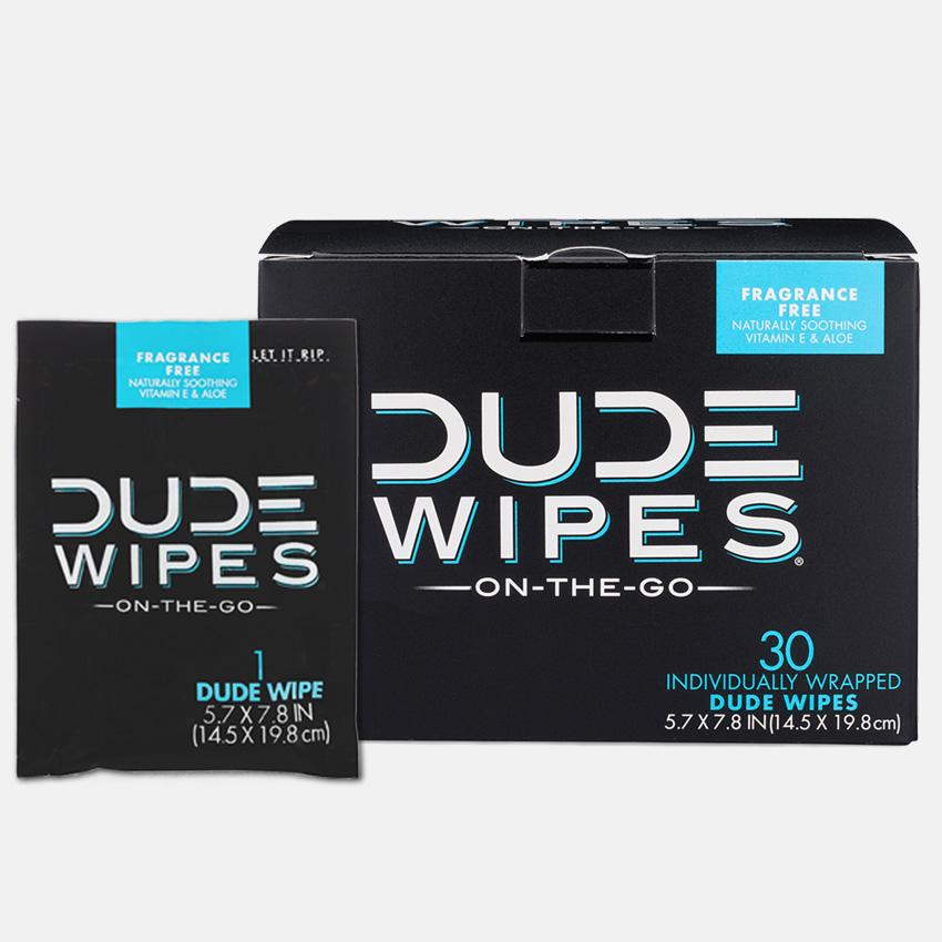 Dude Wipes On-The-Go -
