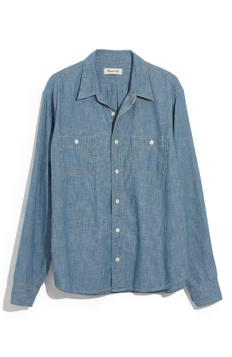 Madewell Classic Button Down Shirt.jpeg
