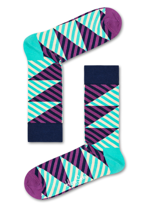 Happy Socks diagonal Stripe Socks.png
